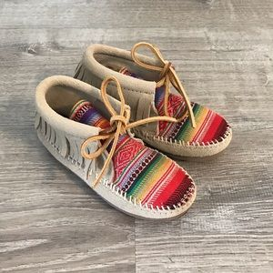 Rainbow Minnetonkas